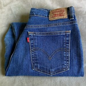 Levi's 512 Jeans Classic Slim Stretch Size 12S